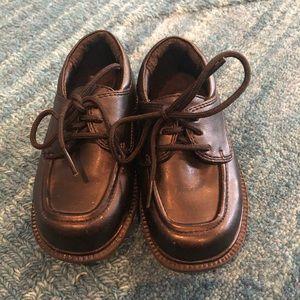 Baby toddler black dress shoes SmartFit size 5